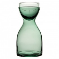 Nude Mr & Mrs Night Carafe Set Green 30oz (85cl)