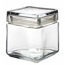 Square Biscotti Jar 1L - 6 Pack