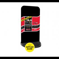 Slimflex Extra HPL Chalkboard Pavement Display