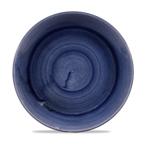 Churchill Stonecast Patina Cobalt Blue Coupe Plate 26cm