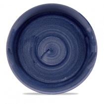 Churchill Stonecast Patina Cobalt Blue Coupe Plate 28.8cm