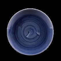 Churchill Stonecast Patina Cobalt Blue Coupe Plate 21.7cm
