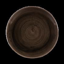 Churchill Stonecast Patina Iron Black Coupe Plate 26cm
