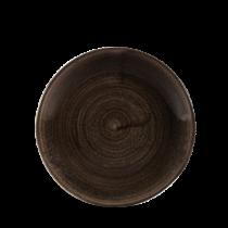 Churchill Stonecast Patina Iron Black Coupe Plate 16.5cm