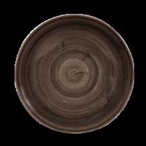 Churchill Stonecast Patina Iron Black Coupe Plate 21.7cm