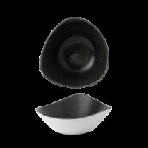 Churchill Stonecast Patina Iron Black Triangle Bowl 18.5cm