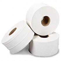 Mini Jumbo 2 Ply Toilet Roll 60mm Core White