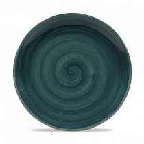 Churchill Stonecast Patina Rustic Teal Coupe Plate 26cm