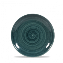 Churchill Stonecast Patina Rustic Teal Coupe Plate 16.5cm