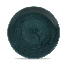 Churchill Stonecast Patina Rustic Teal Coupe Plate 21.7cm