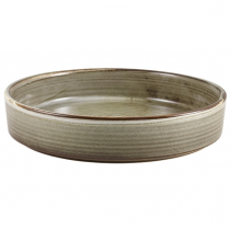 Terra Porcelain Smoke Grey Presentation Bowl 20.5cm