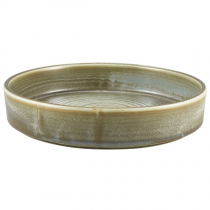 Terra Porcelain Matt Grey Presentation Bowl 20.5cm