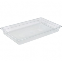 Polycarbonate Gastronorm 1/1 Pan 65mm Deep Clear