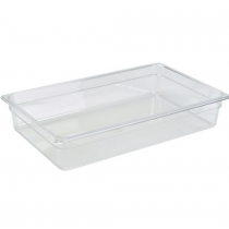 Polycarbonate Gastronorm 1/1 Pan 100mm Deep Clear
