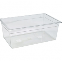 Polycarbonate Gastronorm 1/1 Pan 200mm Deep Clear
