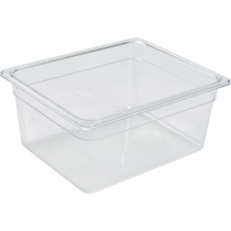 Polycarbonate Gastronorm 1/2 Pan 150mm Deep Clear