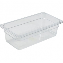 Polycarbonate Gastronorm 1/3 Pan 100mm Deep Clear