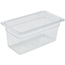 Polycarbonate Gastronorm 1/3 Pan 150mm Deep Clear