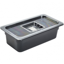 Polycarbonate Gastronorm 1/3 Lid Clear