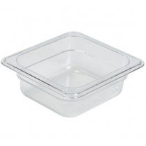 Polycarbonate Gastronorm 1/6 Pan 65mm Deep Clear