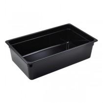 Polycarbonate GN Pan 1/1 150mm Black