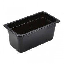 Polycarbonate Gastronorm 1/3 Pan 150mm Deep Black