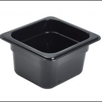 Polycarbonate Gastronorm 1/6 Pan 100mm Deep Black
