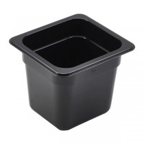Polycarbonate Gastronorm 1/6 Pan 150mm Deep Black