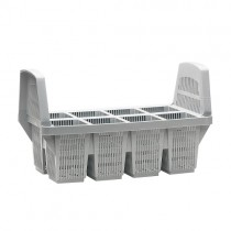 Cutlery basket with 8 compartments