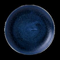 Churchill Stonecast Plume Ultramarine Intermediate Coupe Plate 26cm
