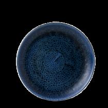 Churchill Stonecast Plume Ultramarine Small Coupe Plate 16.5cm