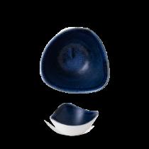 Churchill Stonecast Plume Ultramarine Triangle Bowl 26cl / 9oz