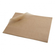 Greaseproof Paper Sheets Brown 35 x 25cm