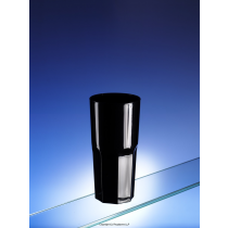 Black Tough Plastic SAN Tumbler 300ml