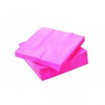 Pink Lunch Napkins 2ply 32cm