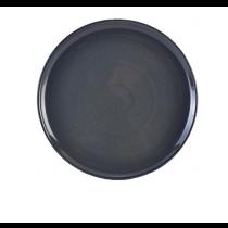 Terra Stoneware Pizza Plate Rustic Blue 33.5cm