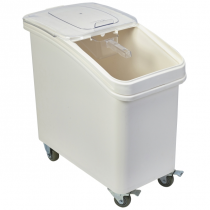 Mobile Ingredient Bin with Scoop 102Ltr