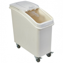Mobile Ingredient Bin with Scoop 81Ltr