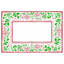Jolly Holly Placemats 365 x 250cm
