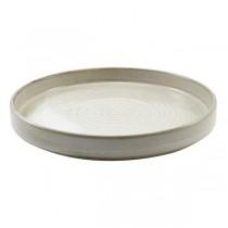 Terra Porcelain Smoke Grey Presentation Plate 26 x 3.3cm