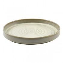 Terra Porcelain Matt Grey Presentation Plate 26 x 3.3cm