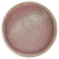 Terra Porcelain Rose Presentation Plate 21 x 2.1cm
