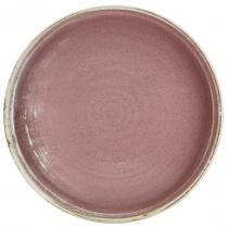 Terra Porcelain Rose Presentation Plate 26 x 2.6cm