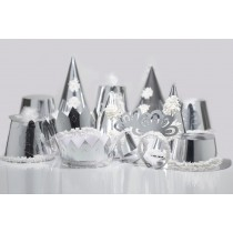 Premiere Silver Adult Party Hats
