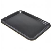 Laminated Wood Tray Black 46 X 34cm