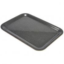 Laminated Wood Tray Dark Granite 46 X 34cm