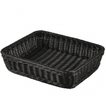 Polywicker Display Basket GN 1/2 Black