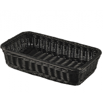 Polywicker Display Basket GN 1/3 Black