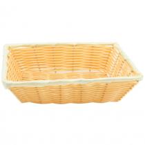 Rectangular Polywicker Basket 40.6 x 28cm