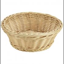 Round Polywicker Basket 21 x 8cm